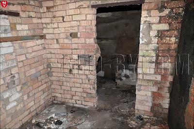 Внутри подземного бункера
