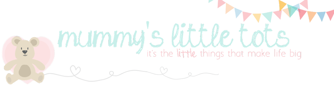 Mummy's Little Tots : It's the little things in life that make life big...