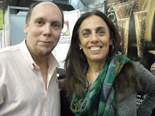 con Silvia Schujer en Librarte 2011