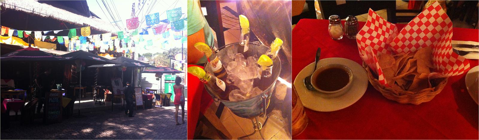Frida's, camarão, peixe, seafood, nachos, Playa Del Carmen, México, Caribe, playa, cerveja