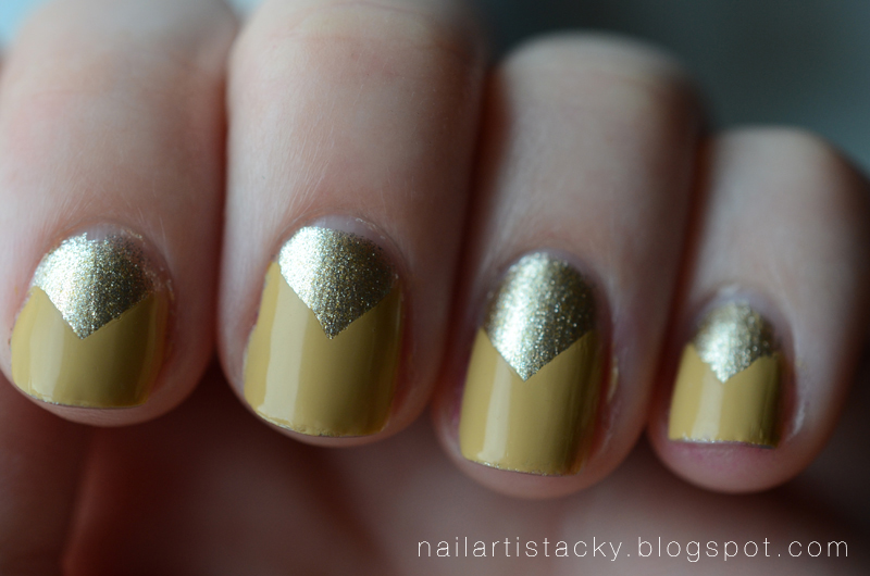 Chevron Nail Art - Butter London Bumster - OCC Cruising