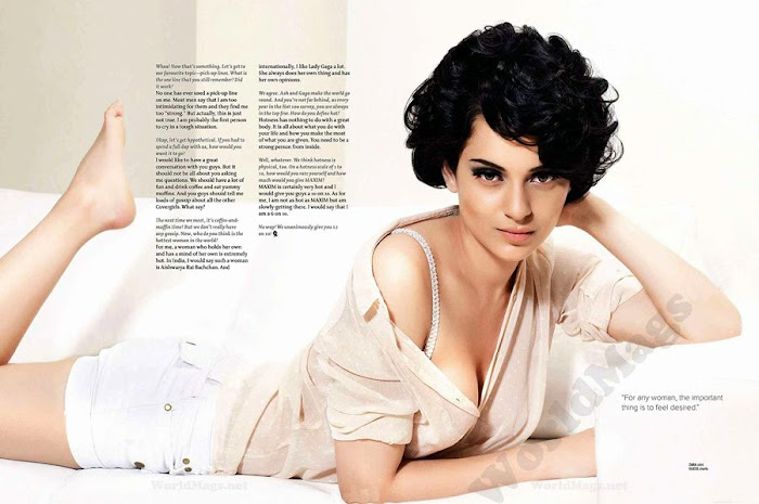 kangana ranaut | spicy ss for maxim mag hot photoshoot