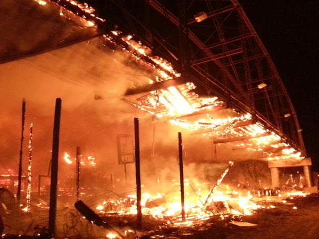 Full Throttle Saloon Destroyed in Fire