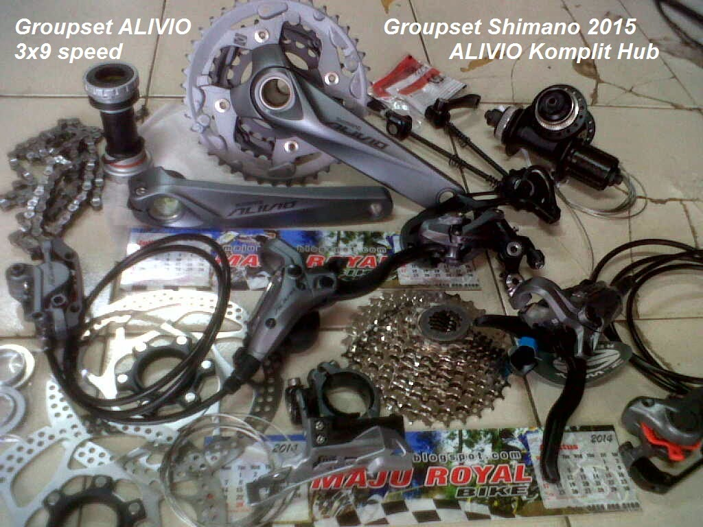 Groupset Alivio 2015