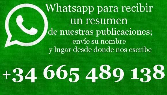RECIBA EN SU TELÉFONO NUESTRAS PUBLICACIONES