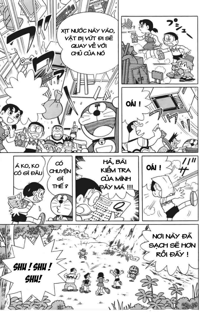Truyện tranh Doraemon Dài Tập 25 - Nobita và truyền thuyết thần rừng trang 30