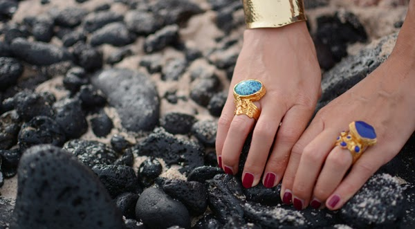 YSL Arty Rings Beach Essentials