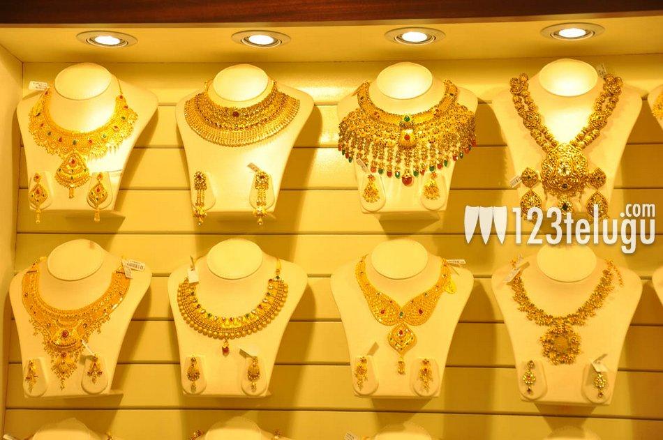 Jewellery Designs : Beautiful Gold Jewellery from Kalyan Jewellers