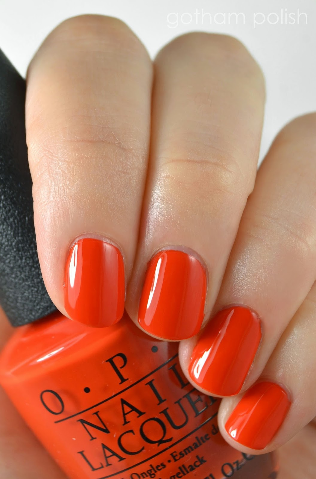 OPI Race Red