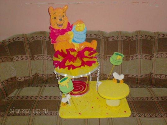 Chupetera de Winnie Pooh - Imagui