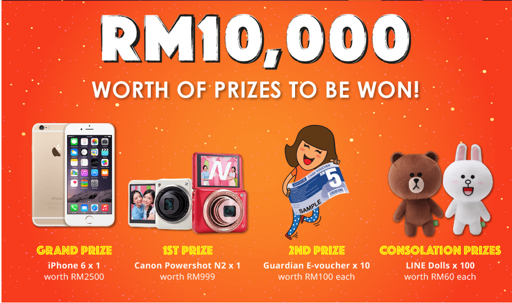 RM10,000 prizes to be won!