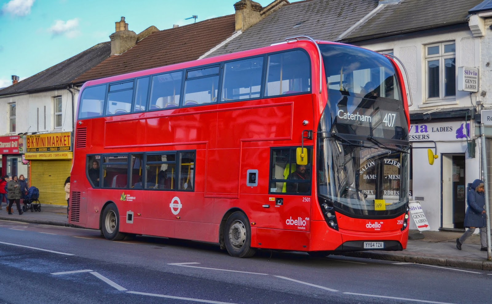 the circle of london : enviro 400 mmc, the story so far