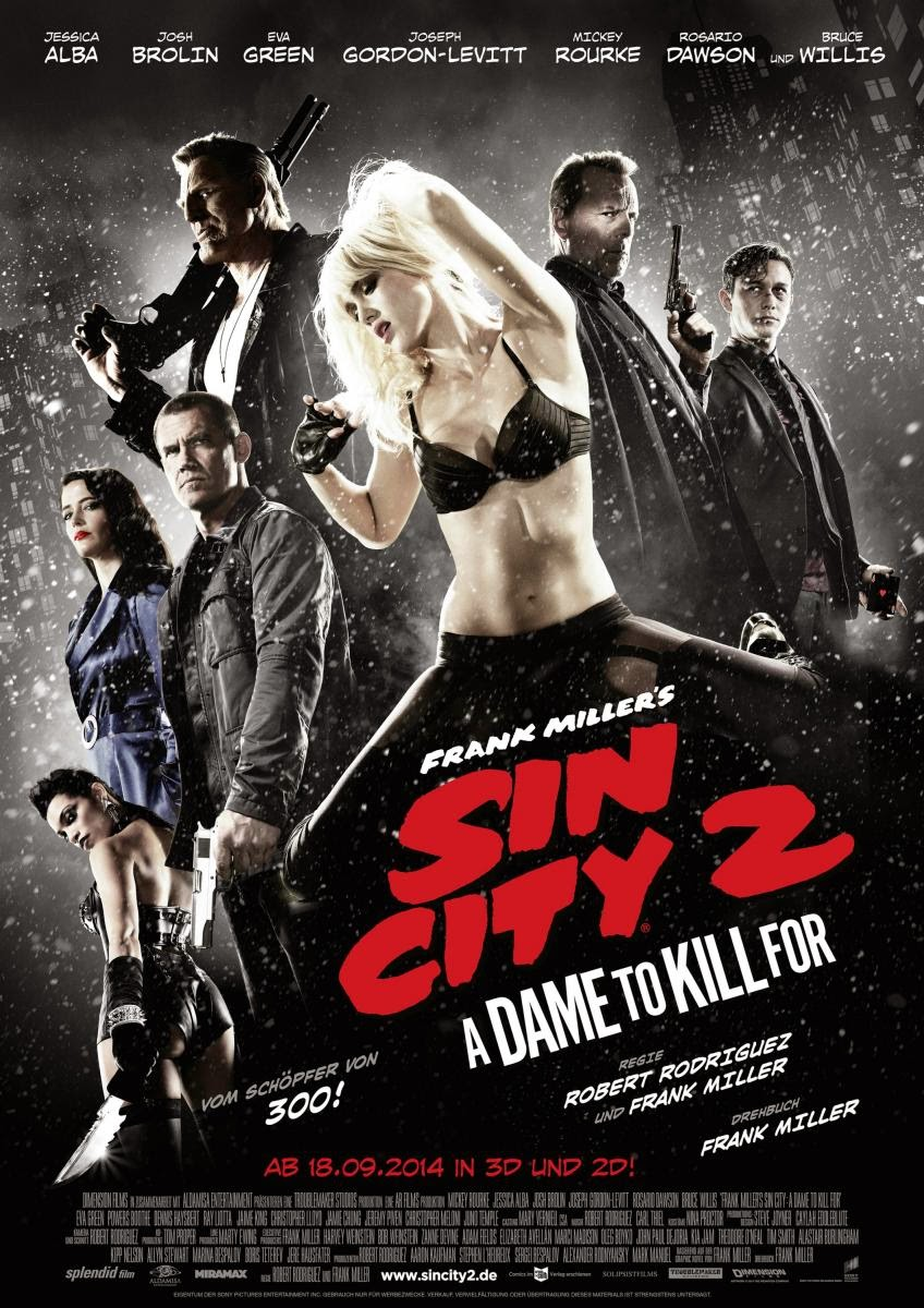 Sin City: A Dame to Kill For | Pelicula HD Español Latino 2014 Gratis