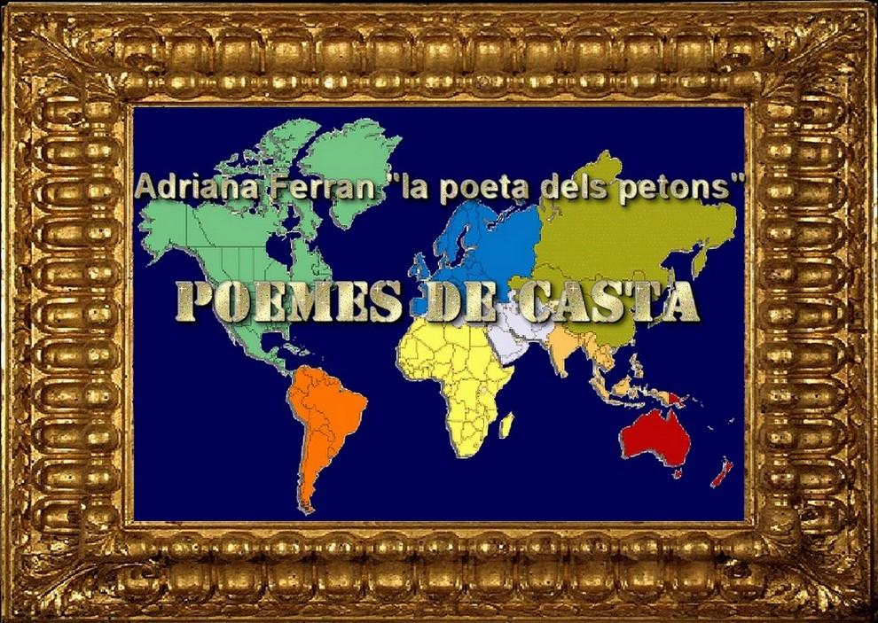 Poemes de Casta per Adriana Ferran