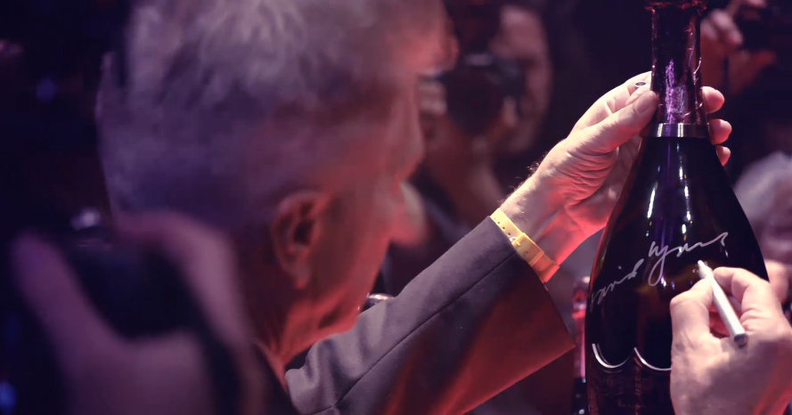 LYLYBYE: DAVID LYNCH'S CHAMPAGNE DREAMS - DOM PERIGNON