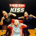 Fatin Shidqia at Radio KISS FM Medan