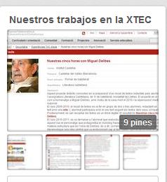 Actividades recogidas en la XTEC