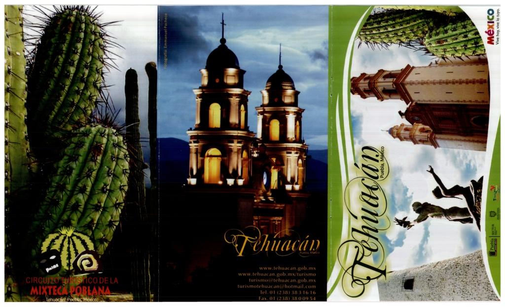 Tehuac 225 N Lugar De Dioses Folleto De Turismo Tehuac 225 N 2008