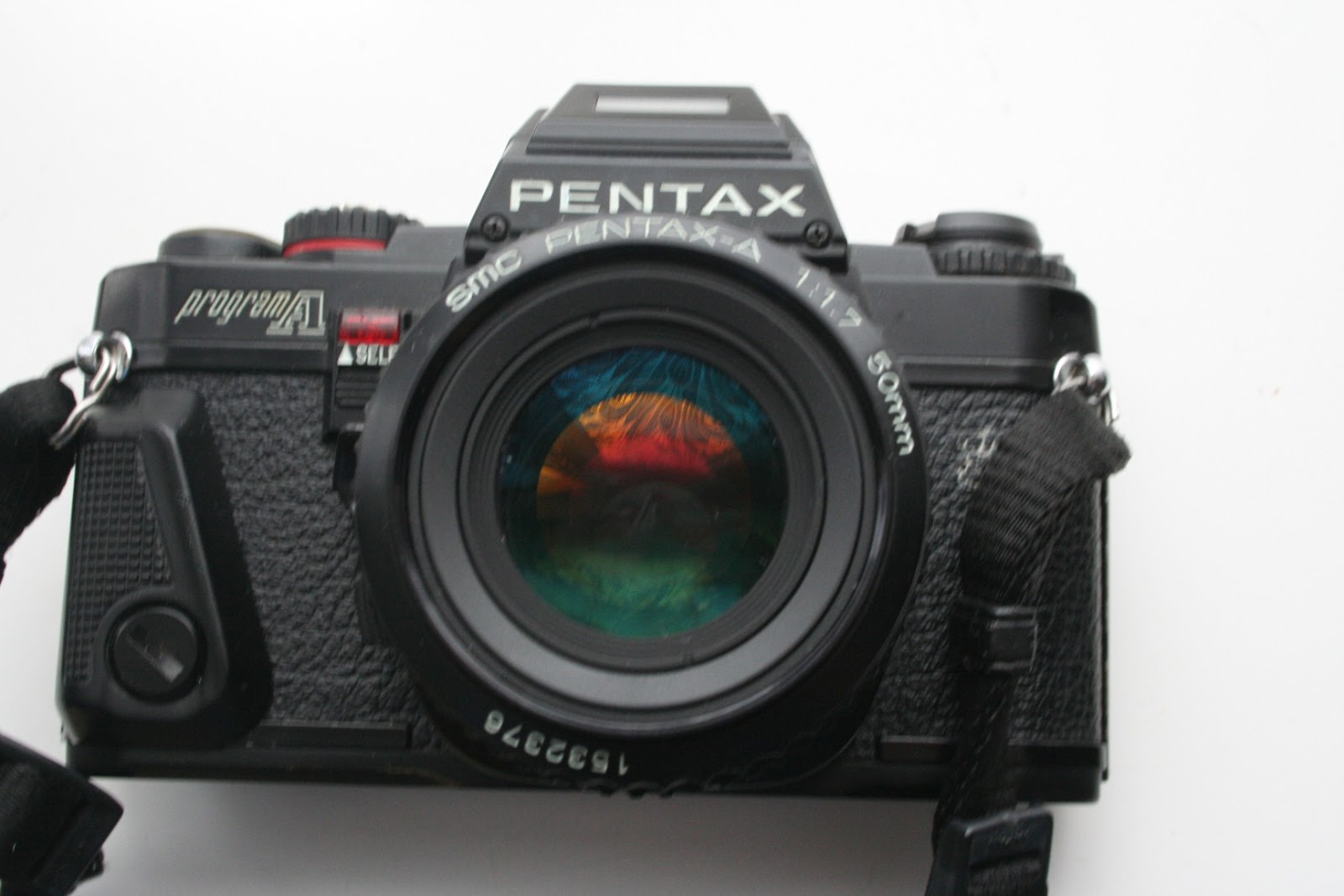 Pentax SUPER A 35mm SLR Film Camera with 50mm f1.7 pka lens