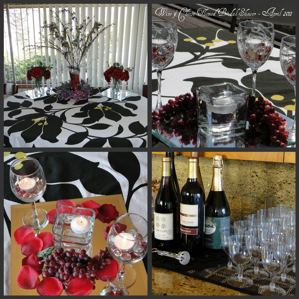 Wine Themed Wedding Decorations