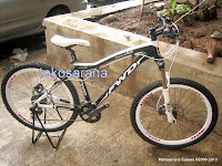Sepeda Gunung Forward Fousto 3.0 27 Speed Shimano Deore 26 Inci