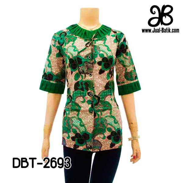 Model Blus Batik Modern Terbaru, April 2013 | Model Blouse Batik 2014