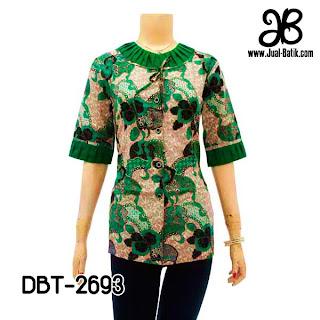 Model Blus Batik DBT-2693