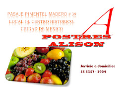 Postres Alison