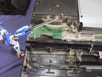 初期型PS3(80GB)の分解/清掃