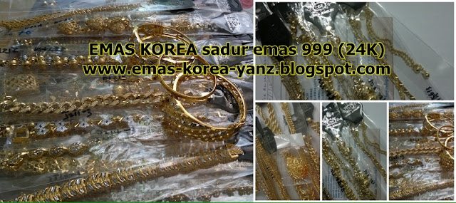 EMAS KOREA SADUR 24K