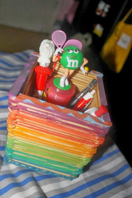 Peluang Usaha Terbaru: Cara Membuat Kotak Pensil dari Stik ...