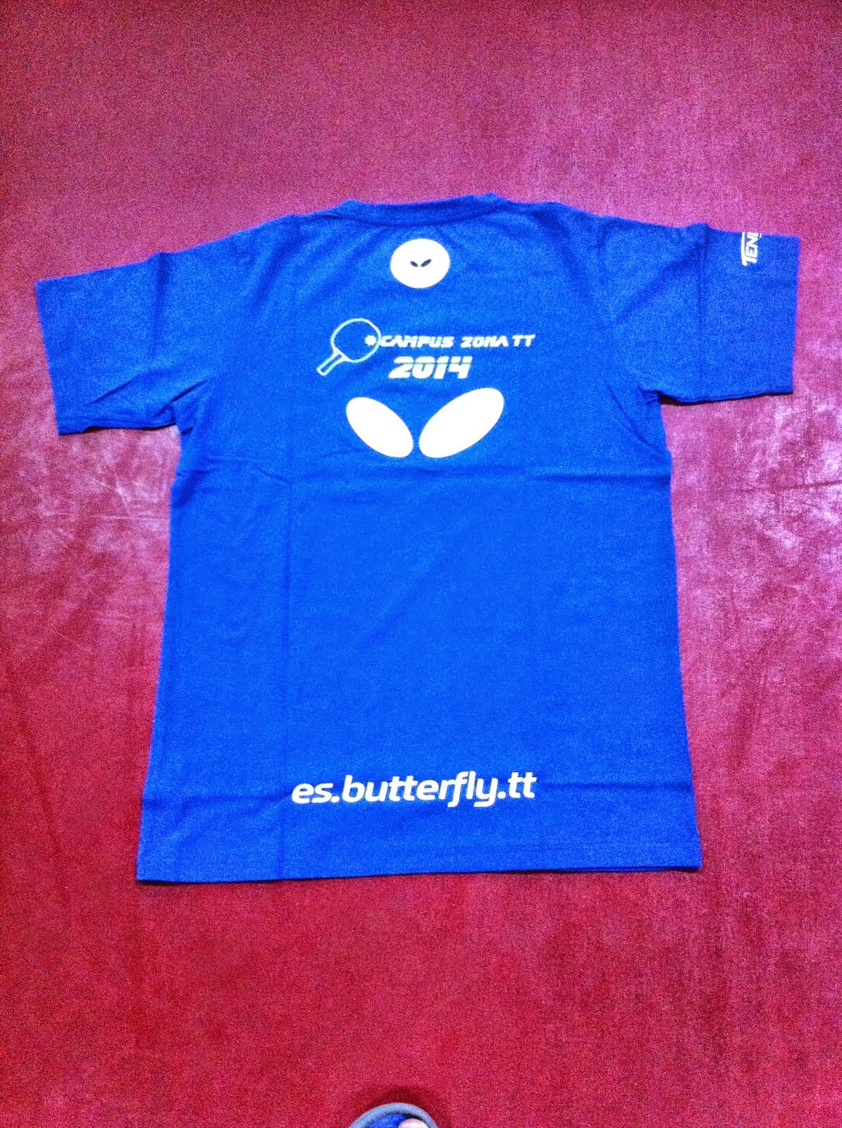 Camiseta Butterfly 2014