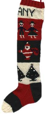 Vintage Christmas Stocking Knitting Pattern Free : The Vintage Pattern Files: 1940s Knitting - Christmas Stocking