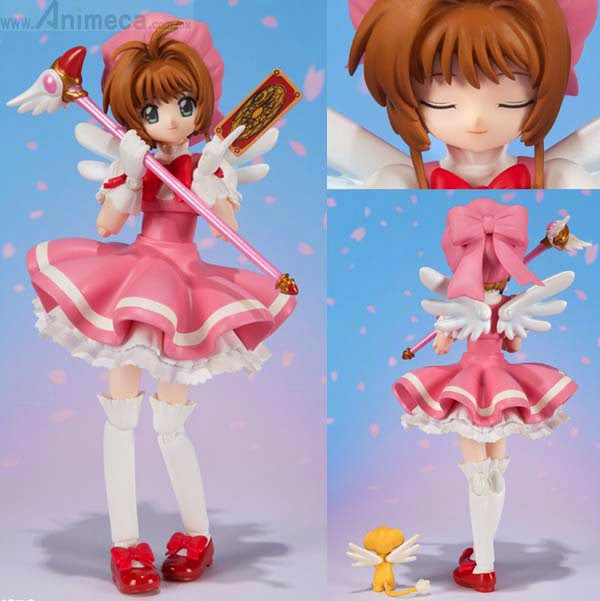 SAKURA KINOMOTO S.H.Figuarts FIGURE Cardcaptor Sakura BANDAI