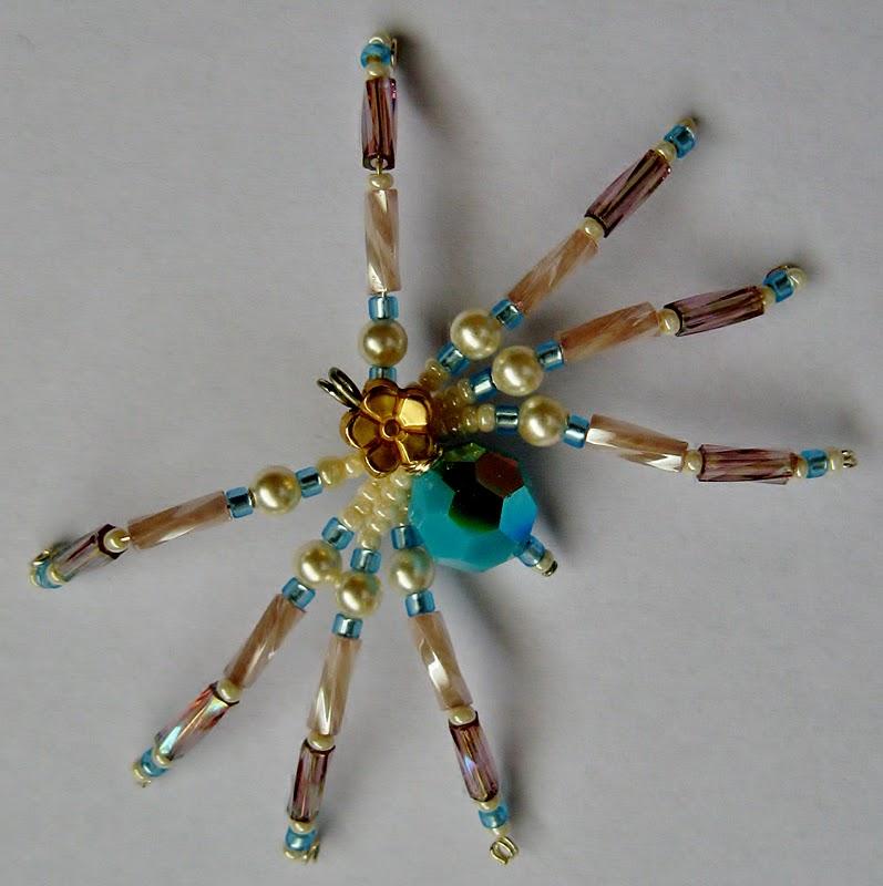 umi tsuru beaded spider