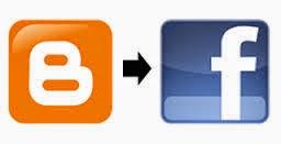 cara postingan blog terkirim secara otomatis ke fb atau fanspage.