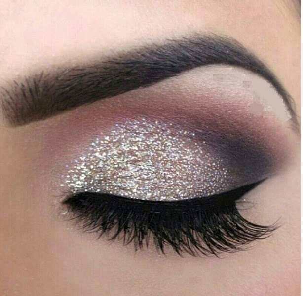 Nice Christmas Party Makeup Ideas Part - 6: Christmas Eve Party Eye Makeup Ideas