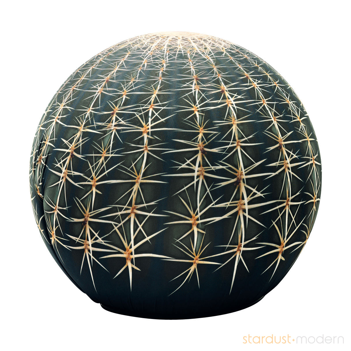 cactus pouf by cerruti baleri modern pouf cactus. Black Bedroom Furniture Sets. Home Design Ideas