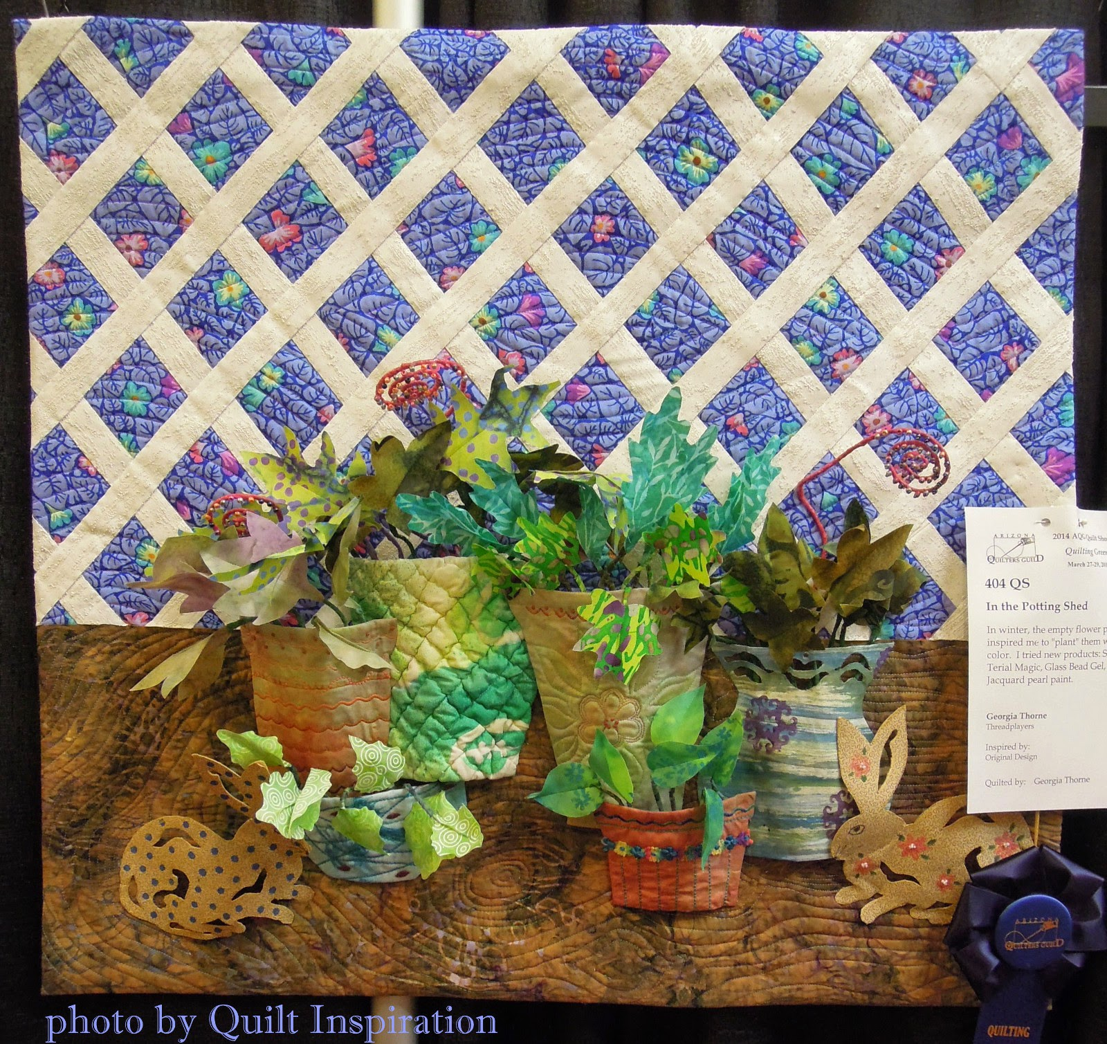 Quilt Inspiration: Another dimension in quilting: 3D Quilts ! : 3d quilts - Adamdwight.com