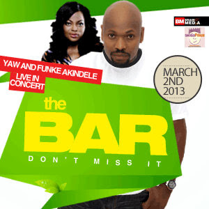 Yaw Funke Akindele The Bar