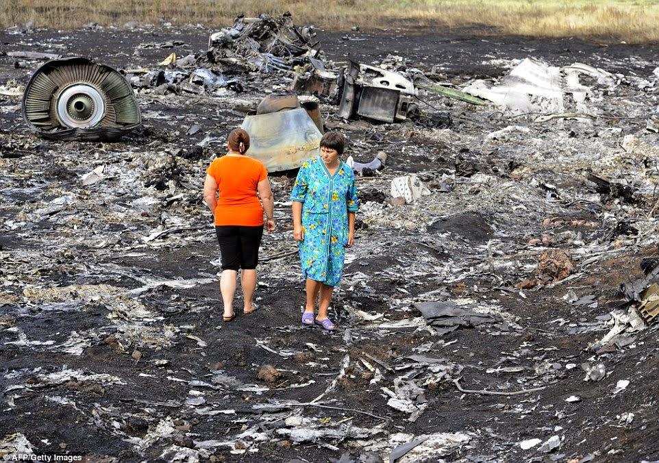 MH17: Gambar-Gambar Terbaru Nahas Pesawat MAS