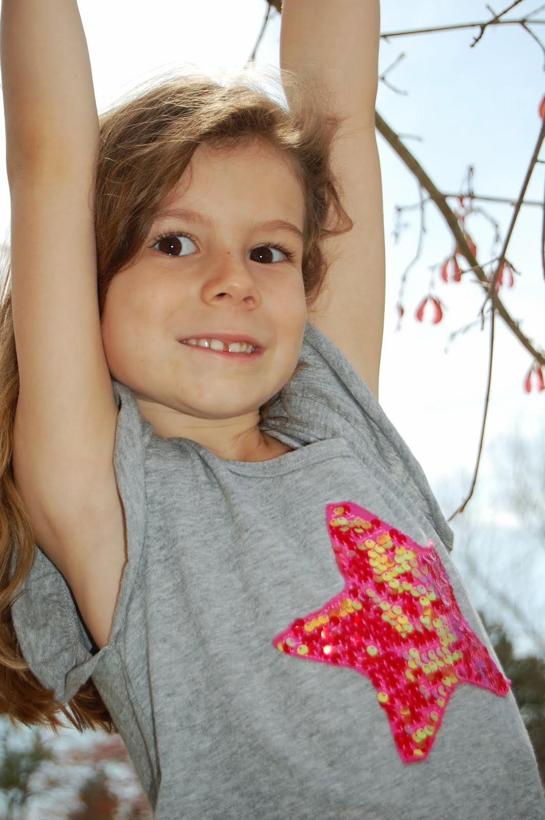 Big Sister Clare - age 5