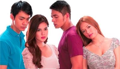 Ron Morales, Shaina Magdayao, Jake Cuenca and Bangs Garcia in Kung Ako'y Iiwan Mo