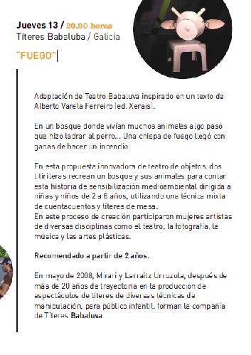 Asturias con niños:  Festival de Títeres en Candás