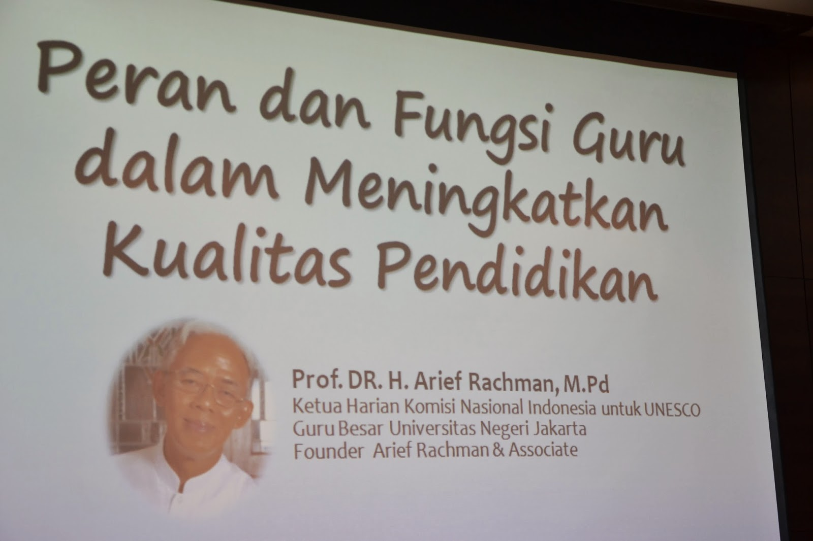 Konferensi Pendidikan Nasional 2014  - Universitas Negeri Jakarta
