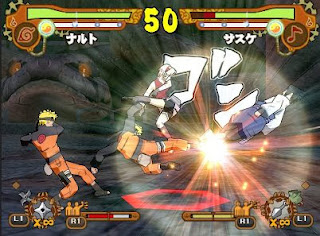 Gameplay Naruto Shippuden Ultimate Ninja 5