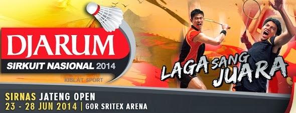 Hasil Pertandingan Djarum Sirkuit Nasional Jawa Tengah Open 2014