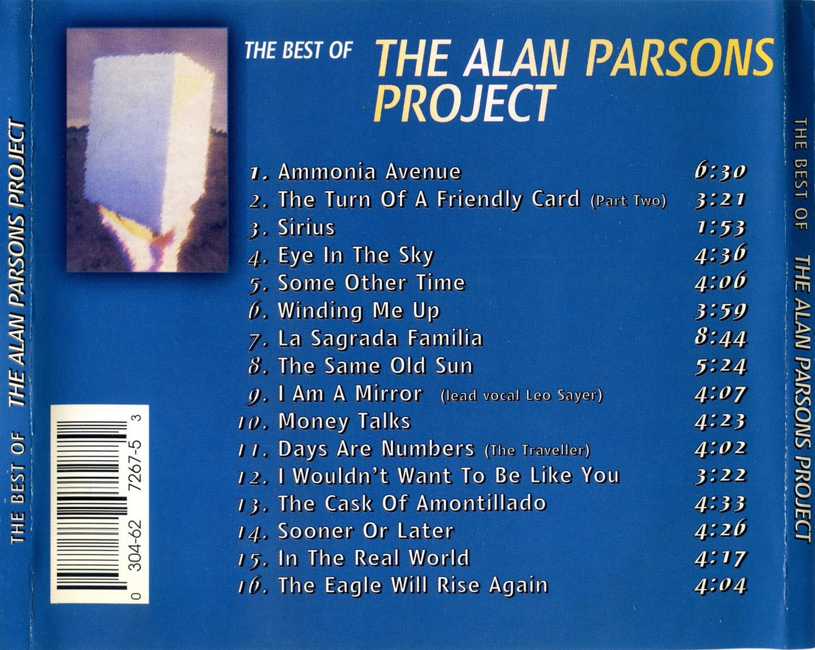 the alan parsons project sirius