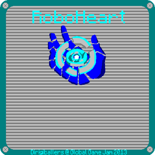 RoboHeart Title Screen
