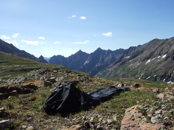 but unlike traditional backpacking hammocks the alpine hammock also works as an on the ground shelter when you u0027re in places that lack trees such as during     the alpine hammock  bivy sack and hammock in one lightweight      rh   outdoors org